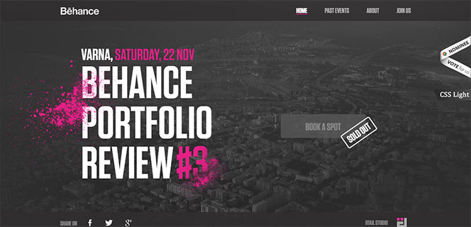 Behance Portfolio Reviews #3
