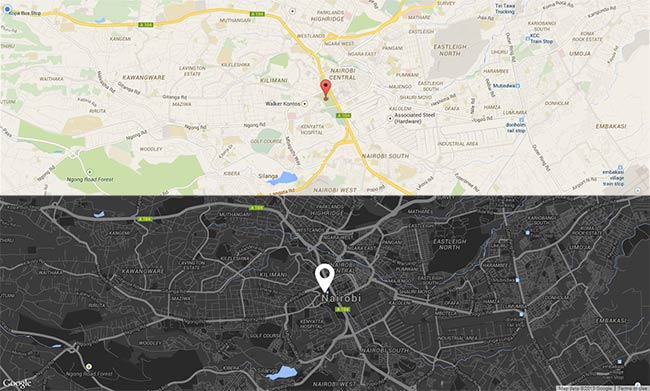 Custom Google Map Tutorial Frontendry - Colors in google maps